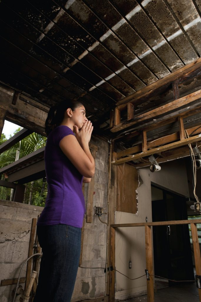 House Fire Needing Public Insurance Adjuster