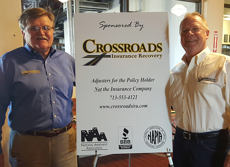 Crossroads Insurance Recovery Supporting the Community